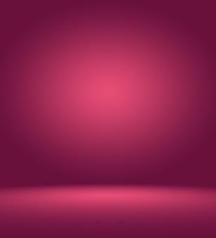Абстрактный светло-розовый красный фон рождество и валентина дизайн макета, студия, комната, веб-шаблон, бизнес-отчет с плавным кругом градиентного цвета.
