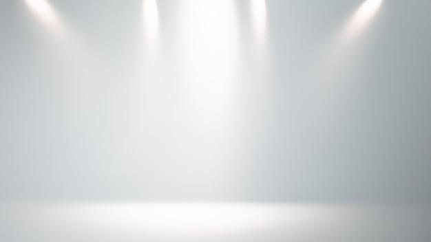 光線を使用したプロジェクトの抽象的な光のシーン