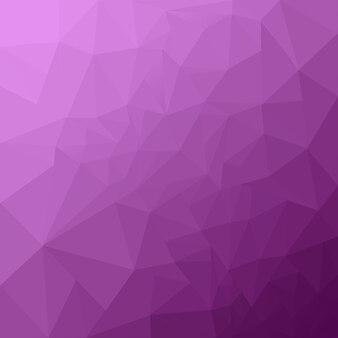 抽象的なライラックの幾何学的な背景。ポリゴンの背景。低ポリ背景。