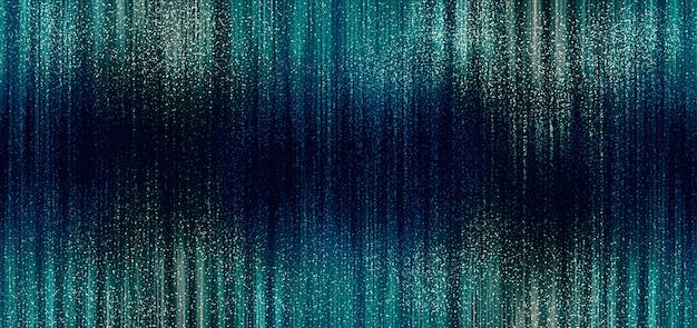 スピードで動く抽象的な線、線、ライト。垂直に動くスパークリングライトのシュールなコンセプト