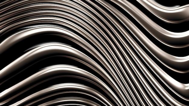 Абстрактные линии жидкой ткани