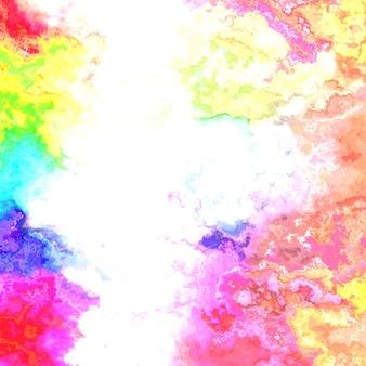 抽象的な液体ペイントテクスチャ、デジタル虹色の背景。