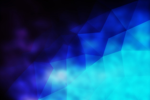 Abstract low poly texture background purple blue
