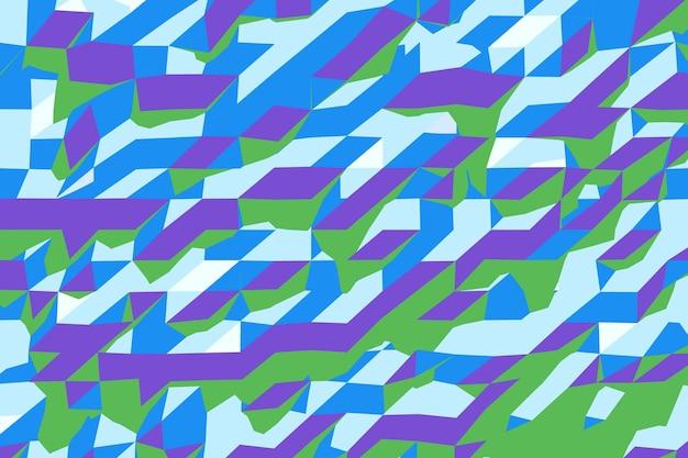 Абстрактный фон lowpoly экстремальный крупный план. 3d рендеринг