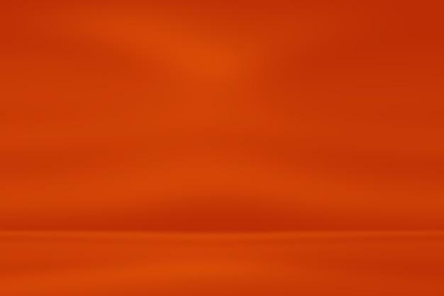 Абстрактный светящийся оранжево красный фон