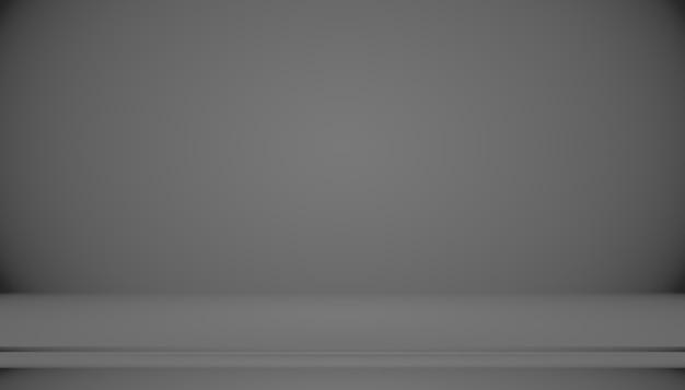 Абстрактный роскошный черный градиент с фоном виньетки границы студийный фон - хорошо использовать как фоновый фон, студийный фон, градиентную рамку.
