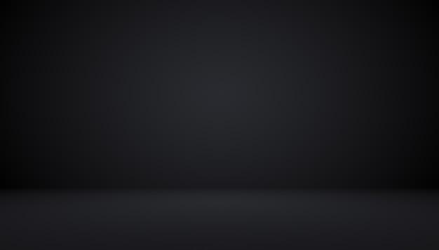 Абстрактный роскошный черный градиент с рамкой виньетка