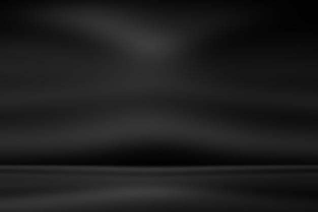 抽象的な贅沢なぼかしダークグレーと黒のグラデーションの背景