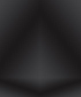 제품을 표시하기 위한 배경 스튜디오 벽으로 사용되는 추상 럭셔리 흐림 어두운 회색 및 검정 그라데이션.