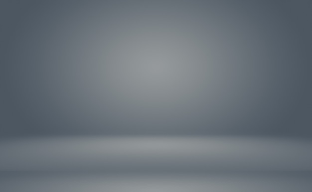 Abstract luxury blur dark grey and black gradient, used as background studio wall for display your products. plain studio background.