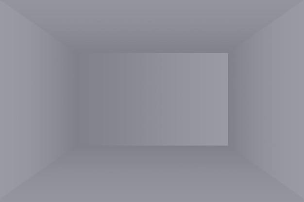Sfocatura astratta di lusso grigio scuro e sfumatura nera, utilizzata come parete dello studio di sfondo per visualizzare i tuoi prodotti.