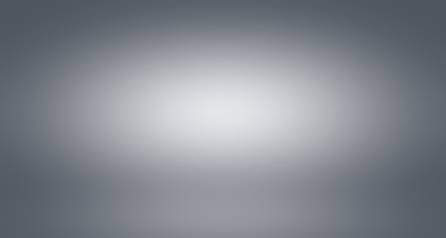 Abstract luxury blur grey color gradient used as background studio wall for display your products