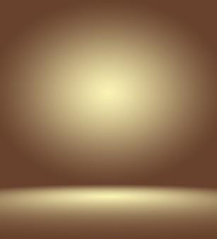 Абстрактный роскошный темно-коричневый и коричневый градиент с виньеткой коричневого цвета, фон студии - хорошо использовать в качестве фона фона, доски, фона студии.