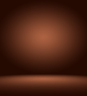 Abstract luxury dark brown and brown gradient with border brown vignette, studio backdrop - well use as backdrop background, board, studio background.