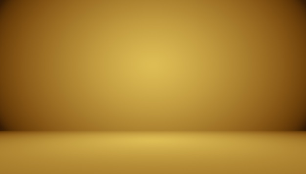 Abstract luxury gold studio well use as background,layout and presentation.