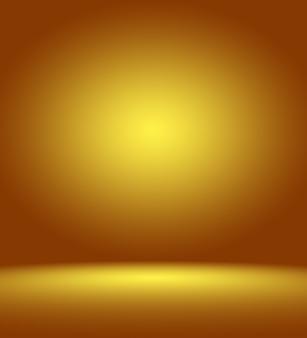 背景レイアウトやprとしてよく使用される抽象的な豪華なゴールドスタジオ 無料写真