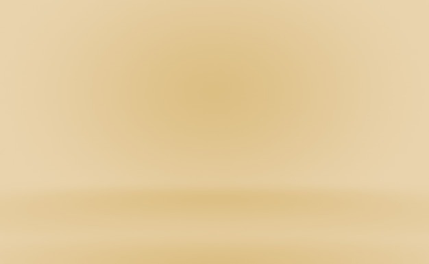 Abstract luxury gold yellow gradient studio wall, well use as background,layout,banner and product presentation. Premium Photo