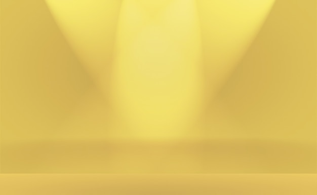 Abstract luxury gold yellow gradient studio wall, well use as background,layout,banner and product presentation.