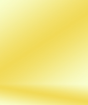 Abstract luxury gold yellow gradient studio wall well use as backgroundlayoutbanner and product pres...