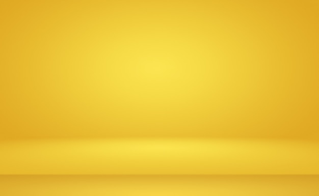 Abstract luxury gold yellow gradient wall