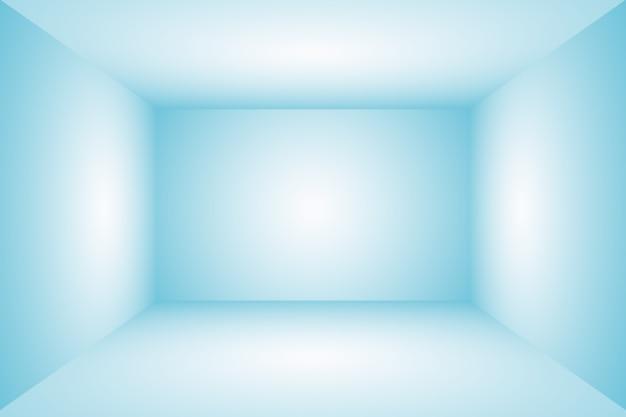 검은색 비네트 스튜디오 배너 d 스튜디오가 있는 추상 럭셔리 그라데이션 파란색 배경 부드러운 진한 파란색...