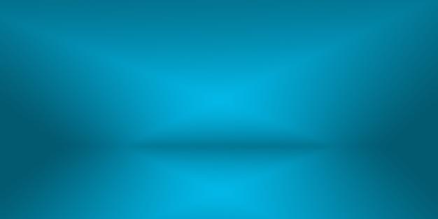 Abstract luxury gradient blue background smooth dark blue with black vignette studio banner