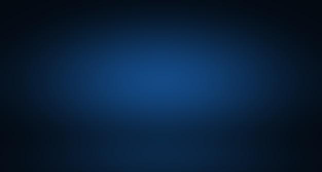 추상 럭셔리 그라데이션 파란색 배경입니다. 블랙 비 네트 스튜디오 배너와 부드러운 진한 파란색.