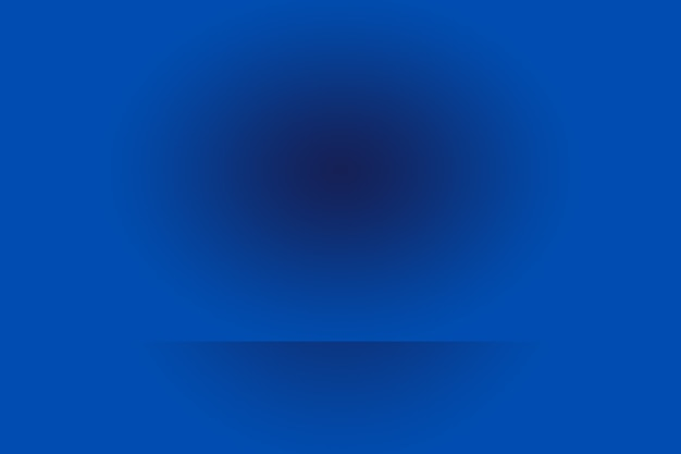 Gradiente di lusso astratto sfondo blu. liscio blu scuro con vignetta nera studio banner.