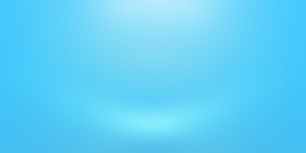 Абстрактный роскошный градиент синий фон. гладкий темно-синий с черной виньеткой studio banner.
