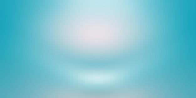 Gradiente di lusso astratto sfondo blu. liscio blu scuro con vignetta nera studio banner. Foto Gratuite