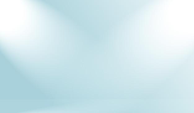 Абстрактный роскошный градиент синий фон гладкий темно-синий с черной виньеткой студийный баннер