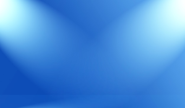 검은색 비네트 스튜디오 배너가 있는 추상 럭셔리 그라데이션 파란색 배경 부드러운 진한 파란색