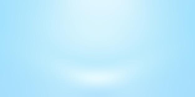 추상 럭셔리 그라데이션 파란색 배경입니다. 블랙 비네트 스튜디오 배너가 있는 부드러운 다크 블루.