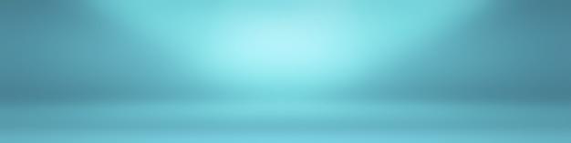 黒のビネットスタジオバナーと抽象的な豪華なグラデーションの青い背景滑らかな濃紺