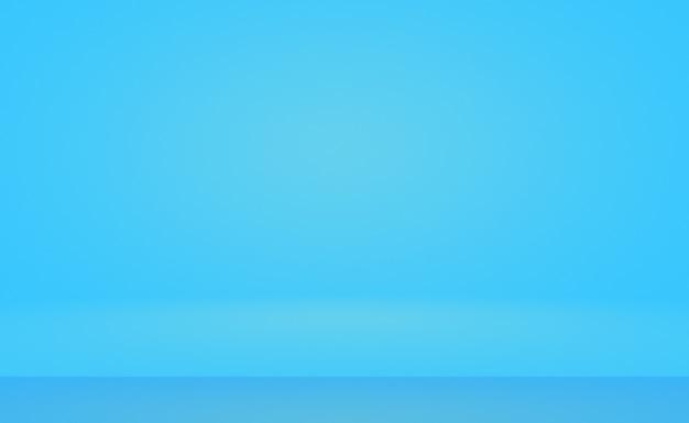 Абстрактный роскошный градиент синий фон. гладкий темно-синий с черной виньеткой.