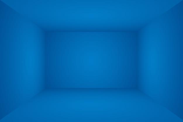抽象的な贅沢なグラデーションの青い背景