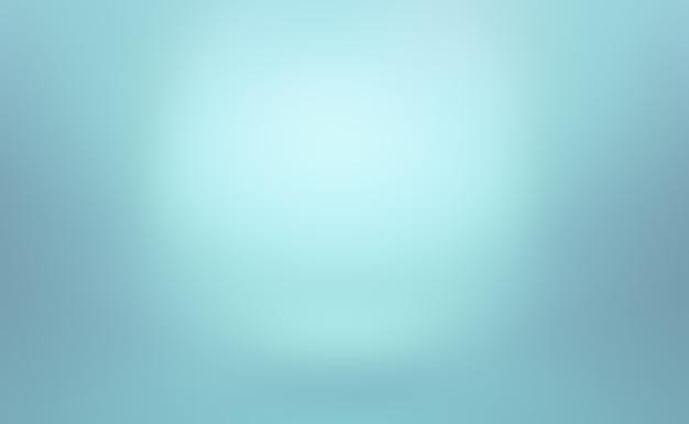 추상 럭셔리 그라데이션 블루. 블랙 비 네트 스튜디오가있는 부드러운 진한 파란색
