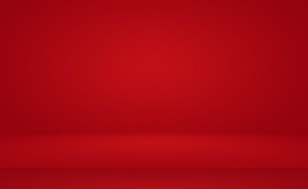 Abstract luxury soft red background christmas valentines layout design,studio,room, web template ,business report with smooth circle gradient color.