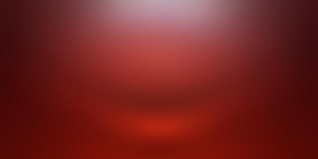 Абстрактный роскошный мягкий красный фон рождество валентина дизайн макета, студия, комната, веб-шаблон, бизнес-отчет с плавным кругом градиентного цвета. Бесплатные Фотографии