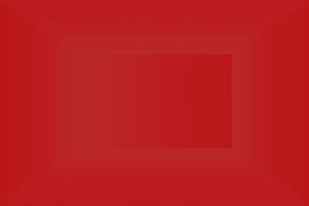 抽象的な豪華な柔らかい赤の背景クリスマスバレンタインレイアウトデザイン、スタジオ、部屋、webテンプレート、滑らかな円のグラデーションカラーのビジネスレポート。