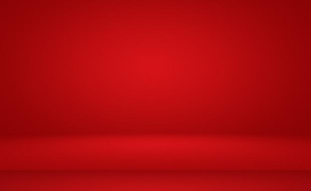 Абстрактный роскошный мягкий красный фон рождество валентина дизайн макета, студия, комната, веб-шаблон, бизнес-отчет с плавным кругом градиентного цвета.