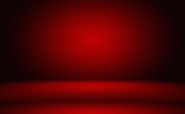 추상 럭셔리 부드러운 빨간색 배경 크리스마스 발렌타인 레이아웃 디자인, 웹 템플릿, 부드러운 원 그라데이션 색상으로 비즈니스 보고서.