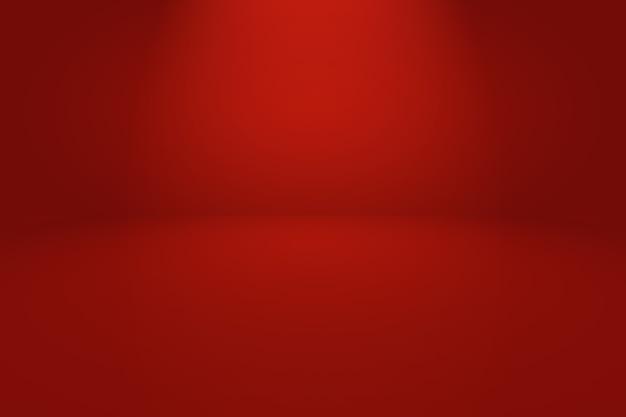 Абстрактный роскошный мягкий красный фон с плавным кругом градиентного цвета.