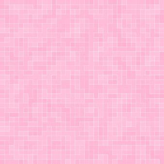 抽象的な豪華な甘いパステルピンクのトーンの壁の床タイルガラスシームレスパターンモザイク背景テクスチャ家具素材。