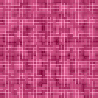 Abstract luxury sweet pastel pink tone wall floor tile glass seamless pattern mosaic background texture for furniture material.