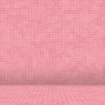 Abstract luxury sweet pastel pink tone wall floor tile glass seamless pattern mosaic