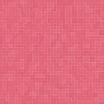 抽象的な贅沢な甘いパステルピンクのトーンの壁の床タイルガラスシームレスパターン