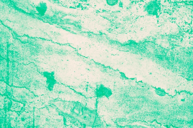 Abstract marble background in mint green color