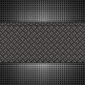 Abstract metal plate background