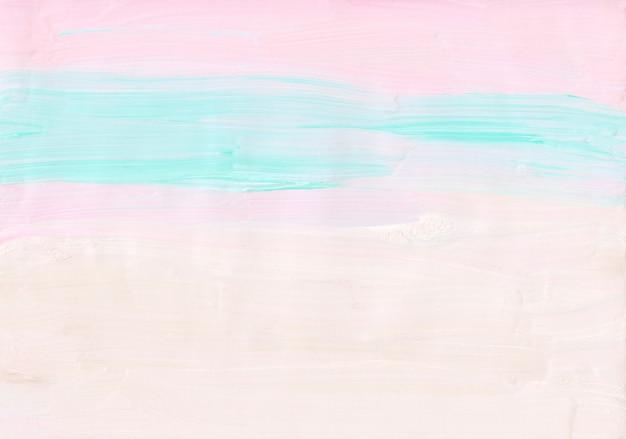 추상 미니멀 파스텔 핑크, 블루, 흰색 배경